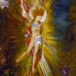 Gustave Moreau - ''Apollo Victorious Over Python'' (detail) (250).jpg