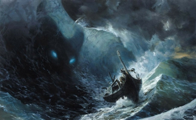 paintings ocean monsters waves thor storm legend fantasy art boats artwork warriors sailing sea_wallpaperswa.com_18.jpg